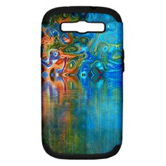 Background Texture Structure Samsung Galaxy S Iii Hardshell Case (pc+silicone)