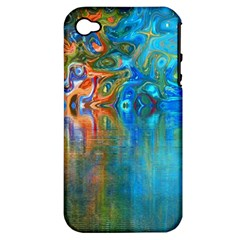 Background Texture Structure Apple Iphone 4/4s Hardshell Case (pc+silicone)