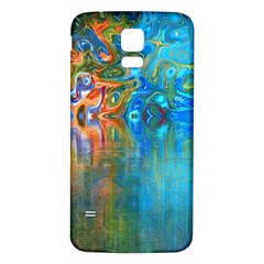 Background Texture Structure Samsung Galaxy S5 Back Case (white)