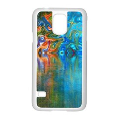 Background Texture Structure Samsung Galaxy S5 Case (white)