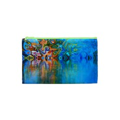 Background Texture Structure Cosmetic Bag (XS)