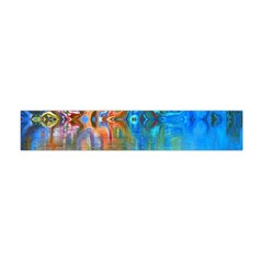 Background Texture Structure Flano Scarf (mini)