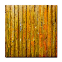 Background Wood Lath Board Fence Tile Coasters