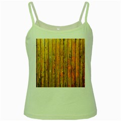 Background Wood Lath Board Fence Green Spaghetti Tank