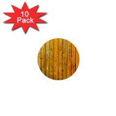 Background Wood Lath Board Fence 1  Mini Buttons (10 Pack)