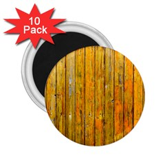 Background Wood Lath Board Fence 2 25  Magnets (10 Pack)