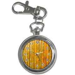 Background Wood Lath Board Fence Key Chain Watches