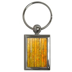 Background Wood Lath Board Fence Key Chains (Rectangle)