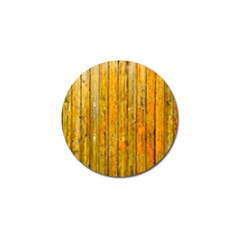 Background Wood Lath Board Fence Golf Ball Marker (4 Pack)
