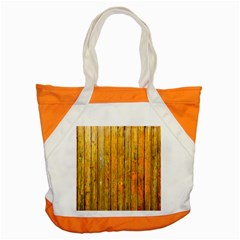 Background Wood Lath Board Fence Accent Tote Bag