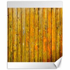 Background Wood Lath Board Fence Canvas 16  X 20