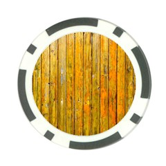 Background Wood Lath Board Fence Poker Chip Card Guard