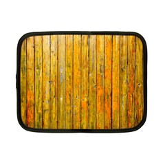 Background Wood Lath Board Fence Netbook Case (small)