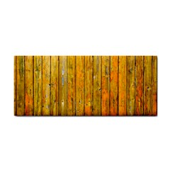 Background Wood Lath Board Fence Cosmetic Storage Cases