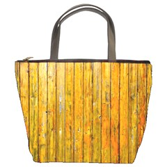 Background Wood Lath Board Fence Bucket Bags