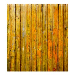 Background Wood Lath Board Fence Shower Curtain 66  X 72  (large)