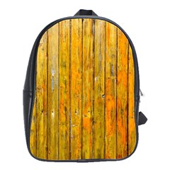 Background Wood Lath Board Fence School Bags(large)