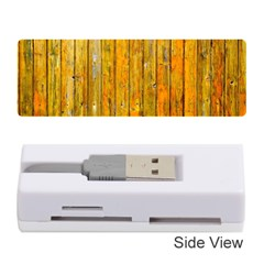 Background Wood Lath Board Fence Memory Card Reader (stick)