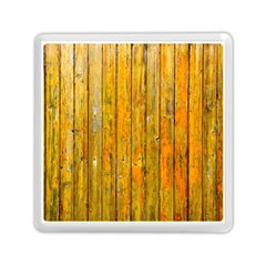 Background Wood Lath Board Fence Memory Card Reader (square)