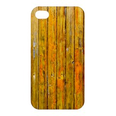 Background Wood Lath Board Fence Apple Iphone 4/4s Hardshell Case