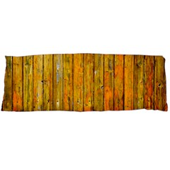 Background Wood Lath Board Fence Body Pillow Case Dakimakura (two Sides)