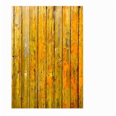 Background Wood Lath Board Fence Large Garden Flag (two Sides)