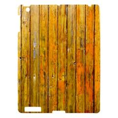 Background Wood Lath Board Fence Apple Ipad 3/4 Hardshell Case