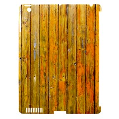 Background Wood Lath Board Fence Apple Ipad 3/4 Hardshell Case (compatible With Smart Cover)