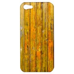Background Wood Lath Board Fence Apple Iphone 5 Hardshell Case