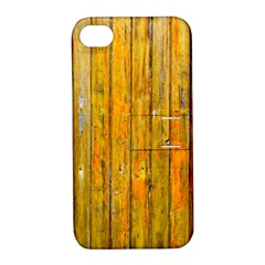 Background Wood Lath Board Fence Apple Iphone 4/4s Hardshell Case With Stand