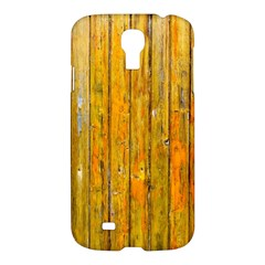 Background Wood Lath Board Fence Samsung Galaxy S4 I9500/i9505 Hardshell Case