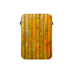 Background Wood Lath Board Fence Apple iPad Mini Protective Soft Cases
