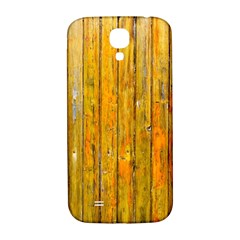 Background Wood Lath Board Fence Samsung Galaxy S4 I9500/i9505  Hardshell Back Case