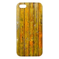 Background Wood Lath Board Fence Iphone 5s/ Se Premium Hardshell Case