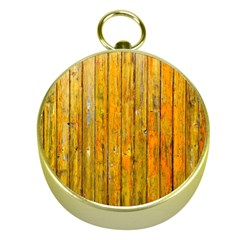 Background Wood Lath Board Fence Gold Compasses