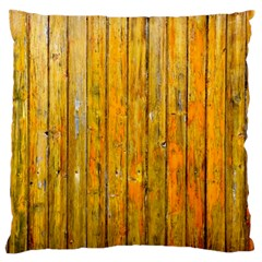 Background Wood Lath Board Fence Standard Flano Cushion Case (one Side)