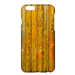 Background Wood Lath Board Fence Apple iPhone 6 Plus/6S Plus Hardshell Case