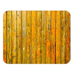 Background Wood Lath Board Fence Double Sided Flano Blanket (large)