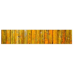 Background Wood Lath Board Fence Flano Scarf (small)