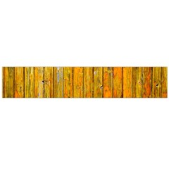 Background Wood Lath Board Fence Flano Scarf (large)
