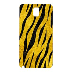 Skin3 Black Marble & Yellow Marble (r) Samsung Galaxy Note 3 N9005 Hardshell Back Case