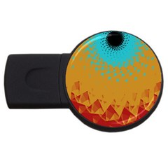 Bluesunfractal Usb Flash Drive Round (2 Gb)