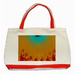 Bluesunfractal Classic Tote Bag (Red)