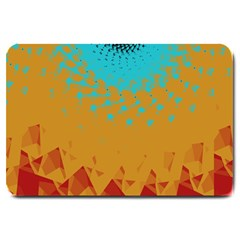 Bluesunfractal Large Doormat