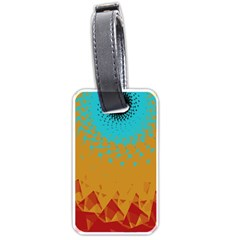 Bluesunfractal Luggage Tags (Two Sides)