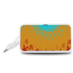 Bluesunfractal Portable Speaker (White)