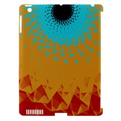 Bluesunfractal Apple iPad 3/4 Hardshell Case (Compatible with Smart Cover)