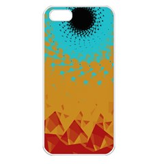 Bluesunfractal Apple iPhone 5 Seamless Case (White)
