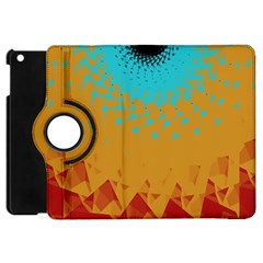 Bluesunfractal Apple iPad Mini Flip 360 Case