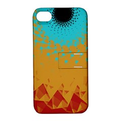 Bluesunfractal Apple iPhone 4/4S Hardshell Case with Stand